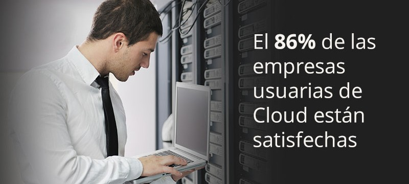 Empresas satisfechas cloud