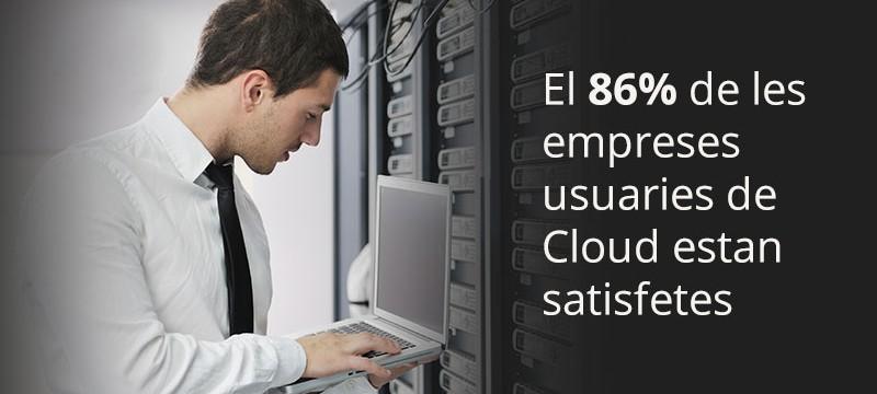 Empreses satisfetes cloud