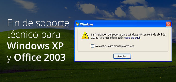 Fin soporte windows xp office 2003