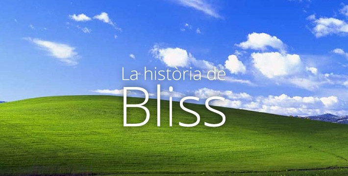 Historia de bliss windows xp