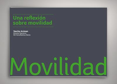 Una reflexión sobre movilidad