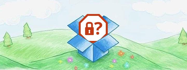 Seguridad dropbox