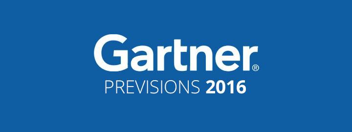 Previsions gartner 2016