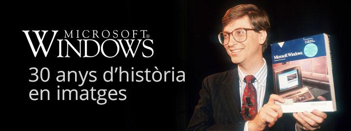 Historia microsoft windows en imatges