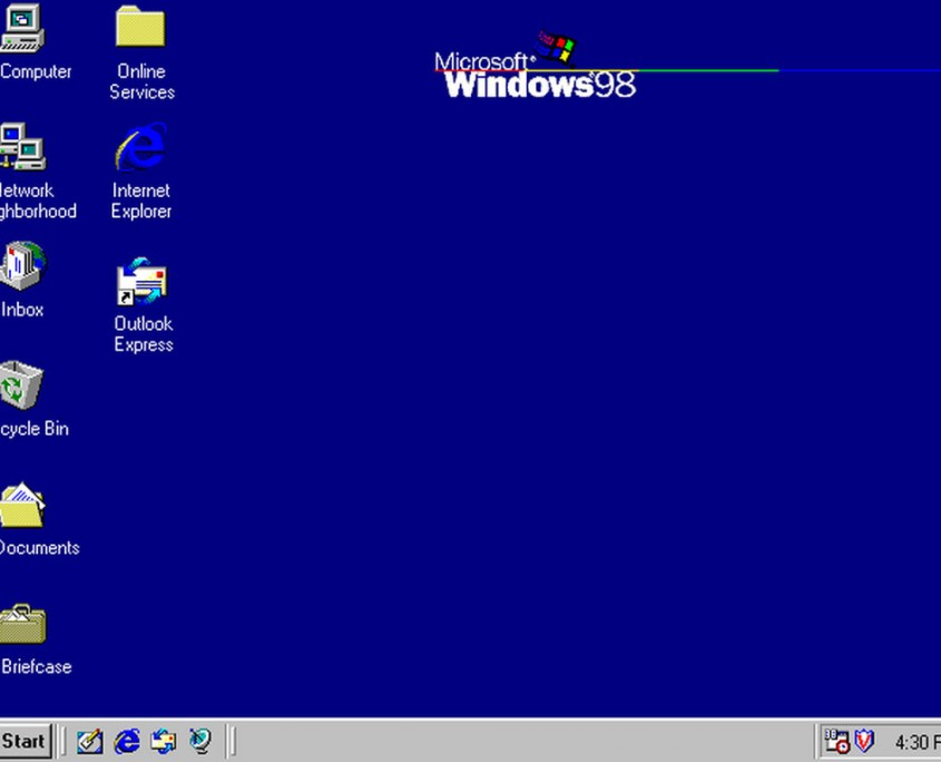 Esta versión aprovecha el empuje de Windows 95 y apostaba por aspectos de Internet como Active Desktop, Outlook Express, Frontpage o NetMeeting