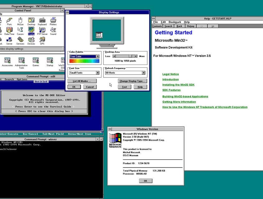 Aquesta versió mostrava d'una manera més evident l'enfoc de la marca amb els PC empresarials i millorava les característiques de seguretat i compartició