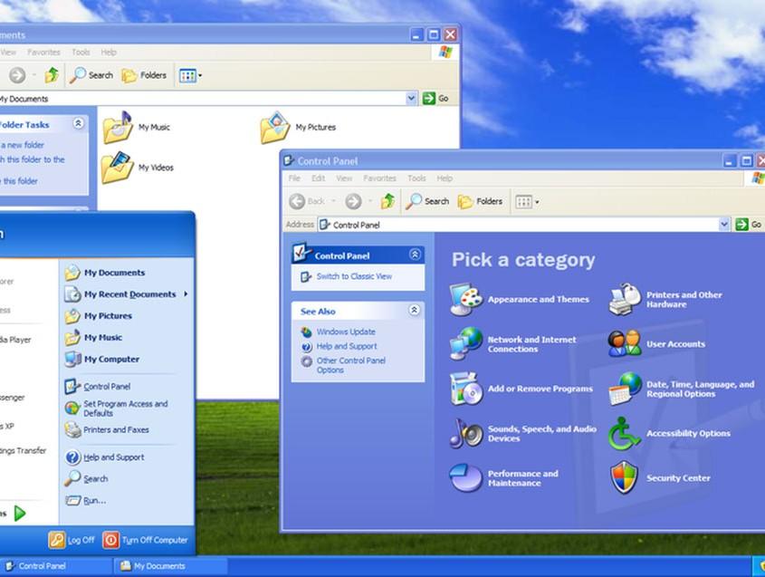 Windows XP fue el gran éxito de Microsoft y combinaba el entorno particular y el laboral.