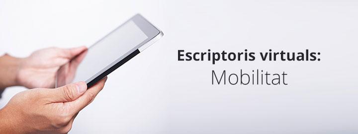 Escriptoris virtuals mobilitat