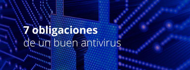 7 obligaciones antivirus