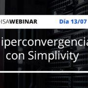 Hiperconvergencia con simplivity webinar