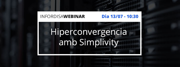 Hiperconvergencia simplivity webinar