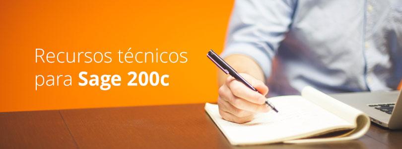Recursos tecnicos sage 200c