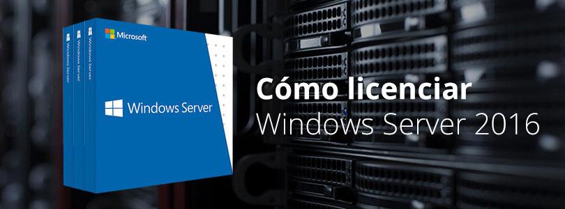 Como licenciar windows server 2016