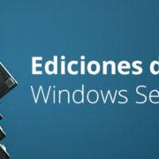 Ediciones windows server 2016