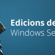 Edicions windows server 2016