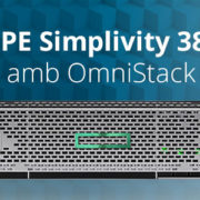 Hpe simplivity 380 omnistack
