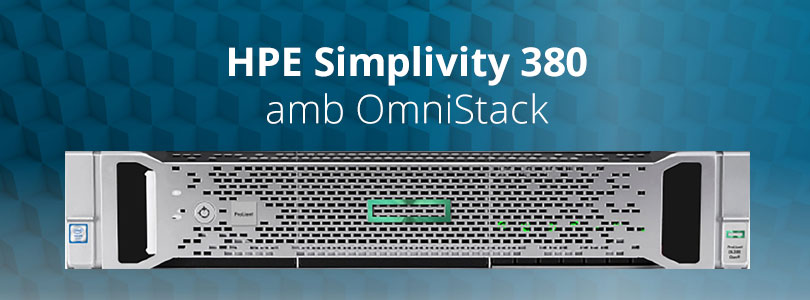 Hpe simplivity 380 omnistack