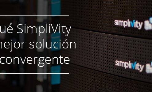 Simplivity es la mejor solucion hiperconvergente