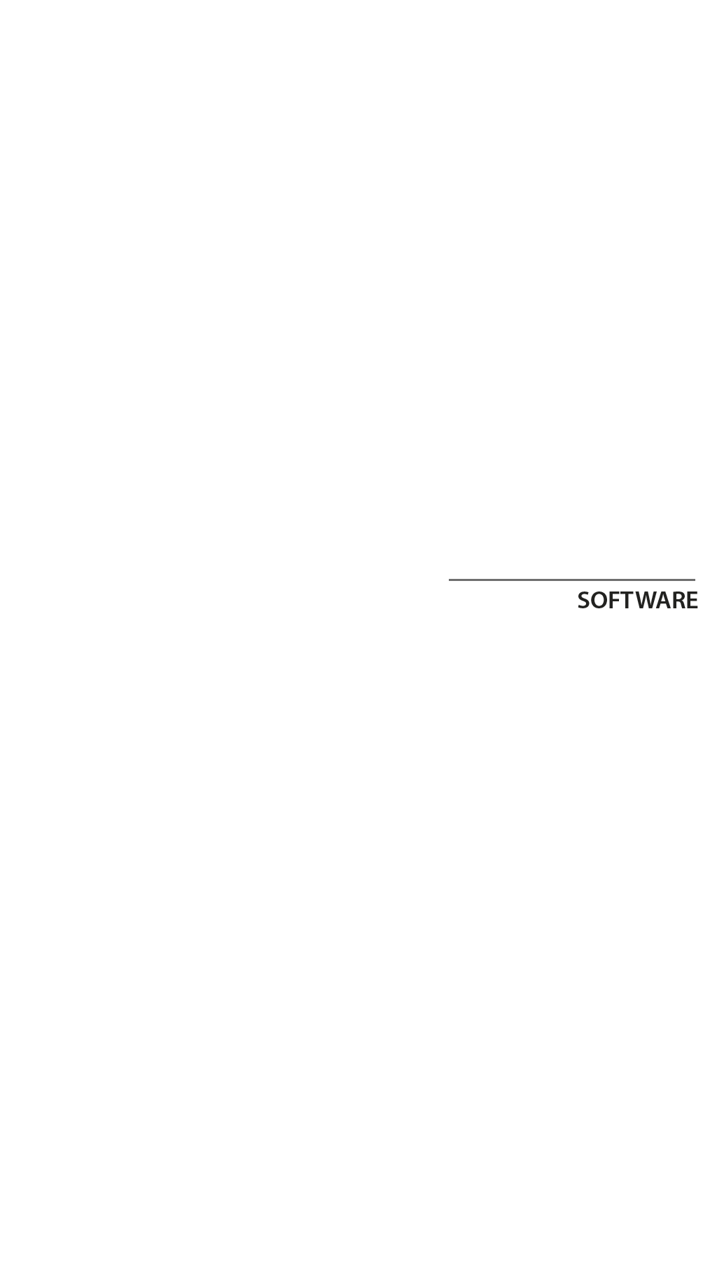 Tipografia software