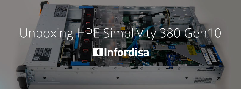 Unboxing hpe simplivity380