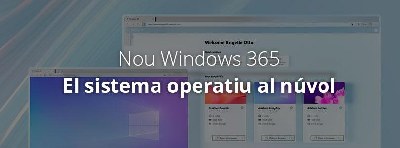 Nou windows 365