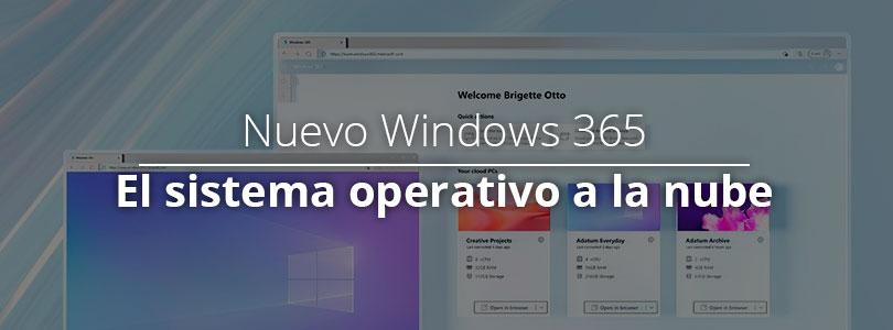 Nuevo windows 365